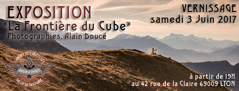 Le Cube s'expose.