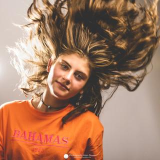 Portrait studio photo Tess