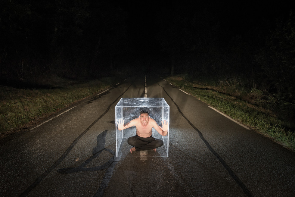 Un Cube sur la route