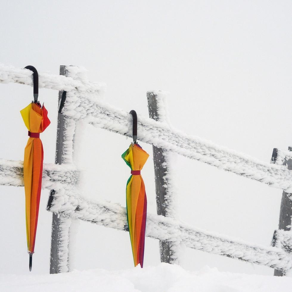 Exposition Irisation à Chamrousse cet hiver