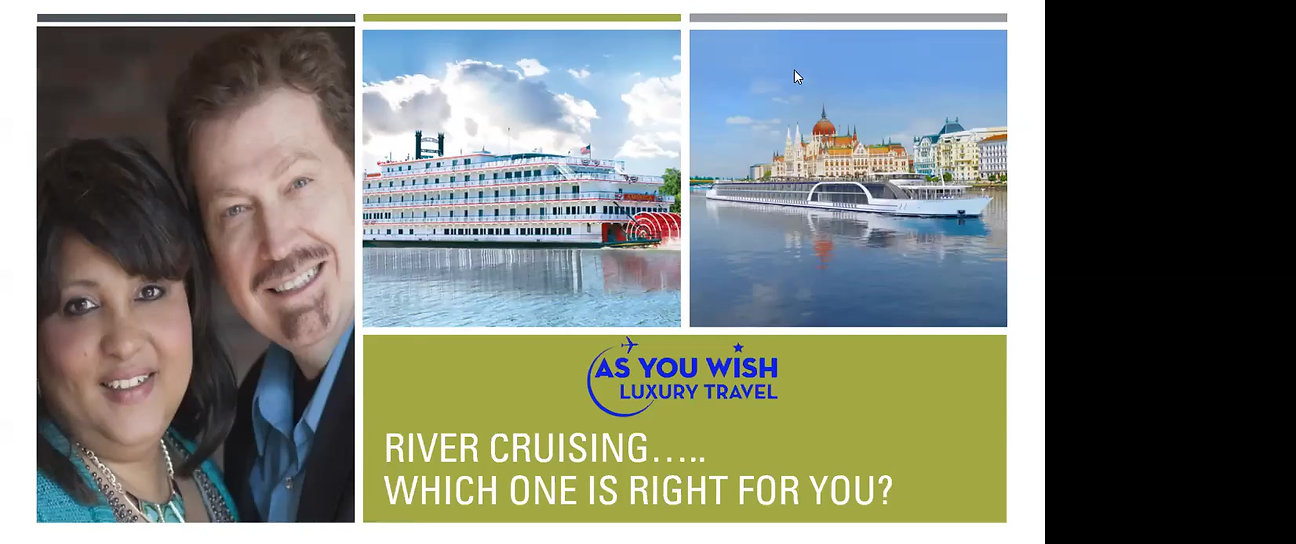 Waterways Vacations - European River Cruises and US Riverboat Cruises.  Which one is right for you?