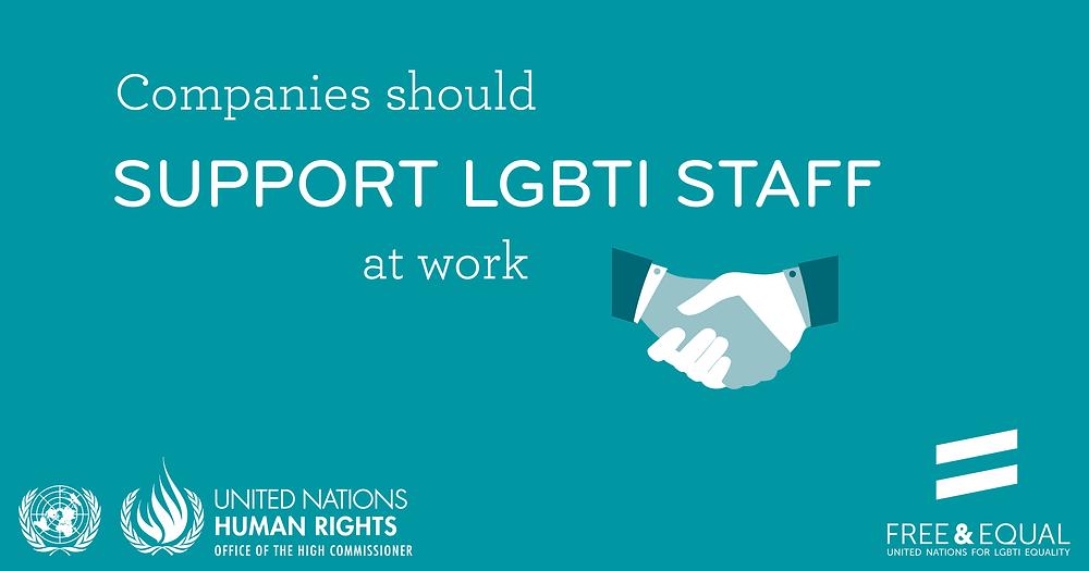 UN Support LGBTI Staff