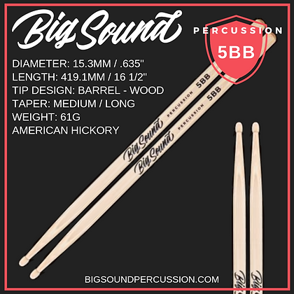 BIG SOUND 5BB PREMIUM DRUMSTICK