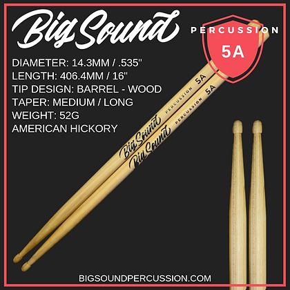 BIG SOUND 5A PREMIUM DRUMSTICK