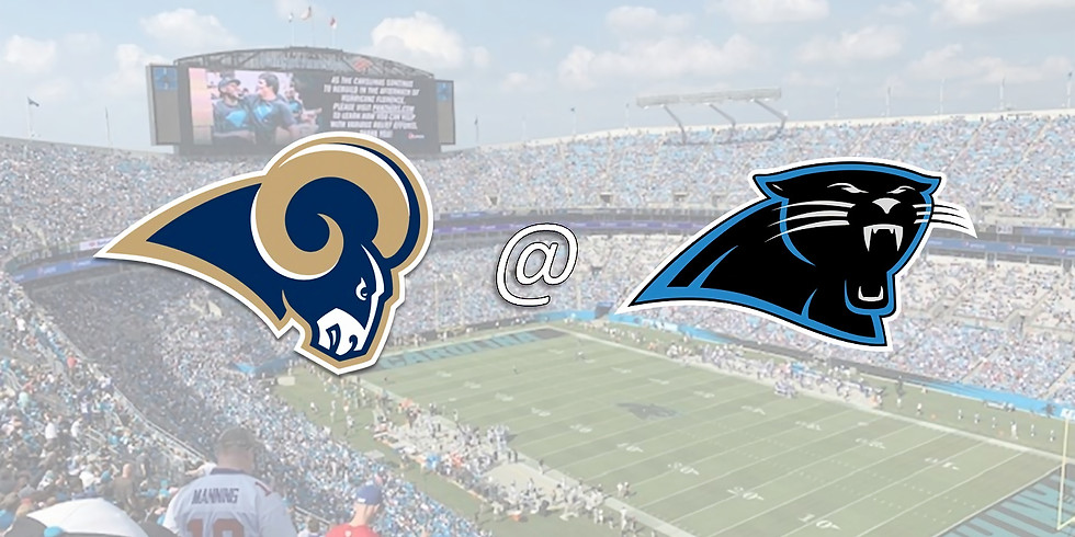 Panthers vs Rams Tickets and Round-trip Transportation to Bank of America Stadium