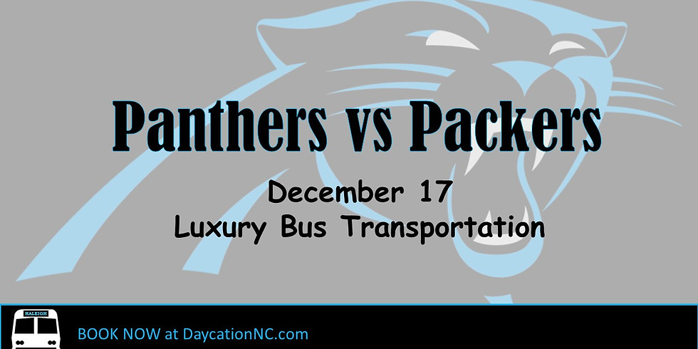 Luxury Bus Transportation to Panthers/Packers Game