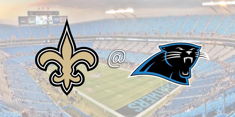 Saints vs. Panthers - TENTATIVE