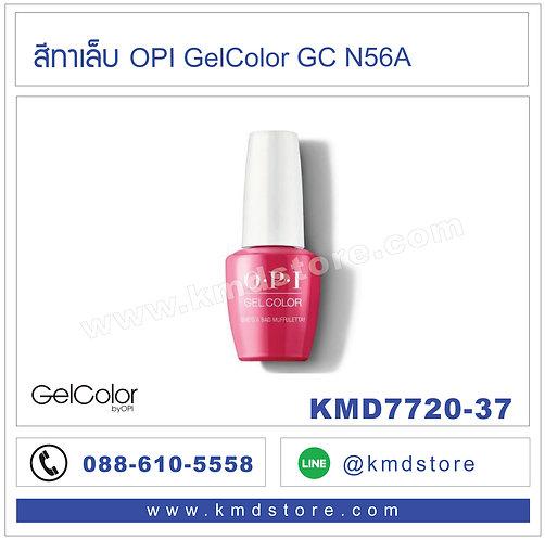 KMD7720-37 สีทาเล็บ OPI GelColor -  She's a Bad Muffuletta / GCN56A