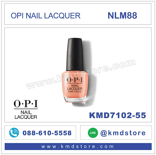 KMD7102-55 สีทาเล็บ OPI NAIL LACQUER - Coral-ing Your Spirit Animal / NLM88