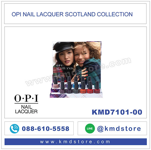 KMD7101-00 สีทาเล็บ OPI NAIL LACQUER SCOTLAND COLLECTION