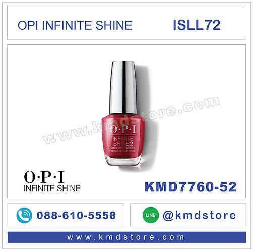 KMD7760-52 สีทาเล็บ OPI INFINITE SHINE-OPI Red /  ISLL72