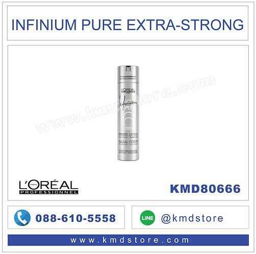 KMD80666 เสปร์ยจัดแต่งผม L'OREAL PROFESSIONAL INFINIUM PURE EXTRA-STRONG