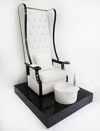 KMD7075W เก้าอี้ทำเล็บเซทสีขาว selected.