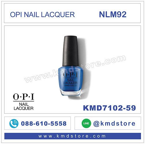 KMD7102-59 สีทาเล็บ OPI NAIL LACQUER - Mi Casa Es Blue Casa / NLM92