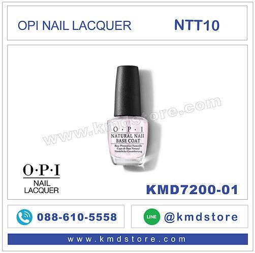 KMD7200-01 สีทาเล็บ OPI NAIL LACQUER - Base Coat / NTT10