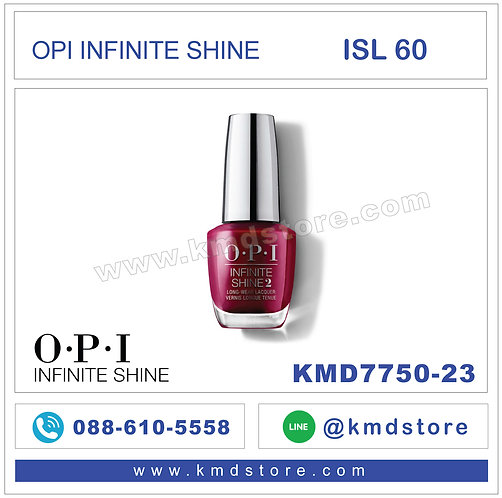 KMD7750-23 สีทาเล็บ OPI INFINITE SHINE - Berry On Forever / ISL60