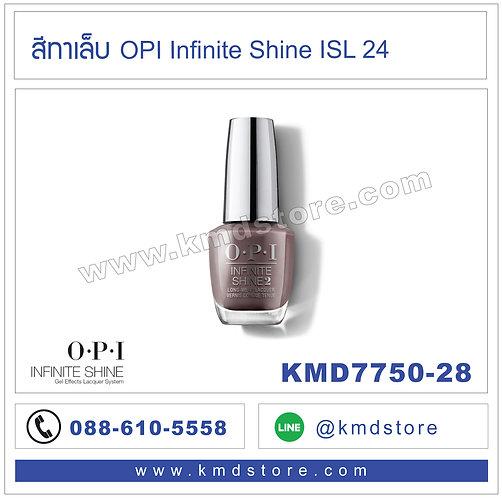 KMD7750-28 สีทาเล็บ OPI INFINITE SHINE - Set in Stone / ISL24