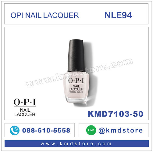 KMD7103-50 สีทาเล็บ OPI NAIL LACQUER - Shellabrate Good Times! / NLE94