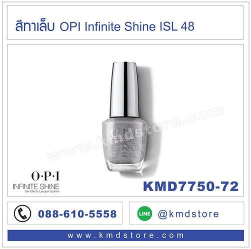 KMD7750-72 สีทาเล็บ OPI INFINITE SHINE - Silver on Ice / ISL48