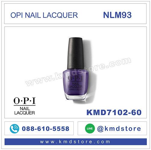 KMD7102-60 สีทาเล็บ OPI NAIL LACQUER - Mariachi Makes My Day / NLM93