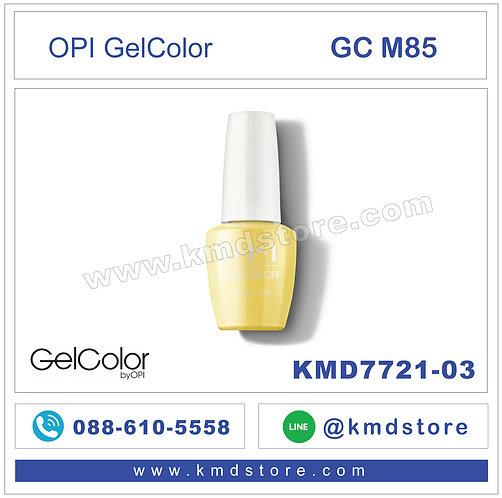 KMD7721-03 สีทาเล็บ OPI GEL COLOR - Don't Tell a Sol / GCM85
