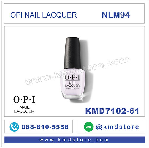 KMD7102-61สีทาเล็บ-OPI NAIL LACQUER - HUE IS THE ARTIST / NLM94