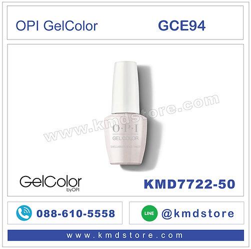 KMD7722-50 สีทาเล็บ OPI GEL COLOR - ShellabrateGood Times / GCE94