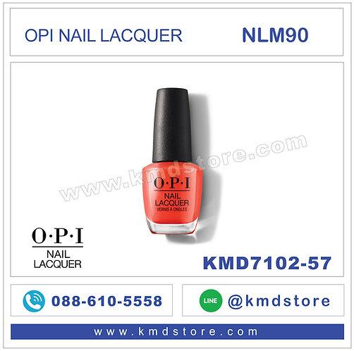 KMD7102-57 สีทาเล็บ OPI NAIL LACQUER - ¡Viva OPI! / NLM90