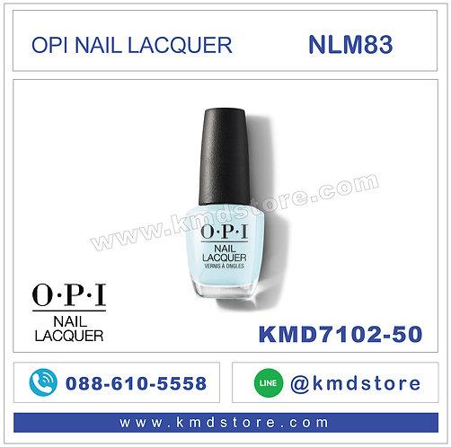 KMD7102-50 สีทาเล็บ OPI NAIL LACQUER - Mexico City Move-mint /  NLM83