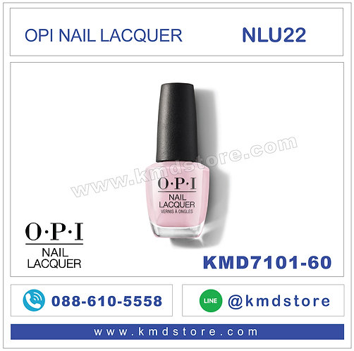 KMD7101-60 สีทาเล็บ OPI NAIL LACQUER - You've Got That Glas-glow / NLU22