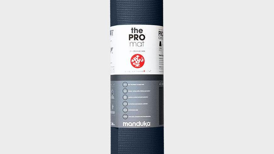 Manduka PRO® Yoga Mat 6mm - Black Blue Colorfields