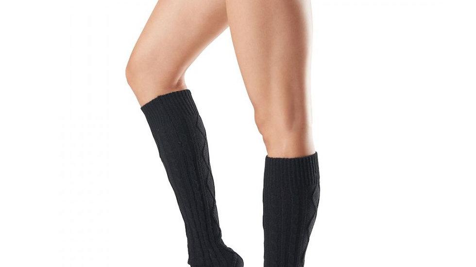 toesox - Leg Warmer Knee High - Black