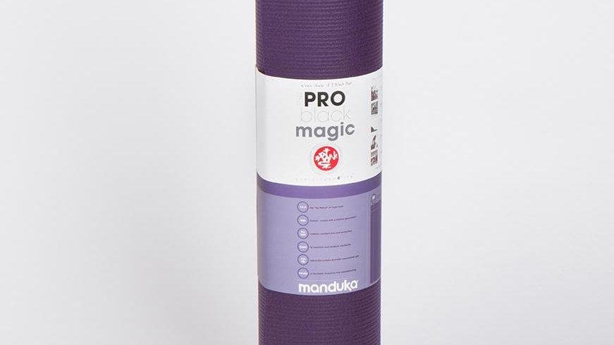 Manduka PRO® Yoga Mat 6mm - Black Magic (Purple)
