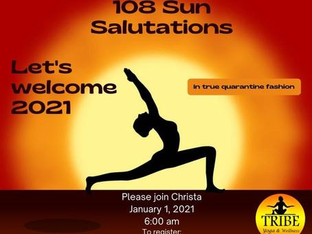 New Year Day Yoga!