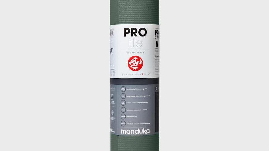 Manduka PROlite® Yoga Mat 4.7mm - Black Sage (green)
