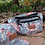 Thumbnail: B fresh - GRANDMA'S COUCH FANNY PACK - FADED FLORAL PATTERN