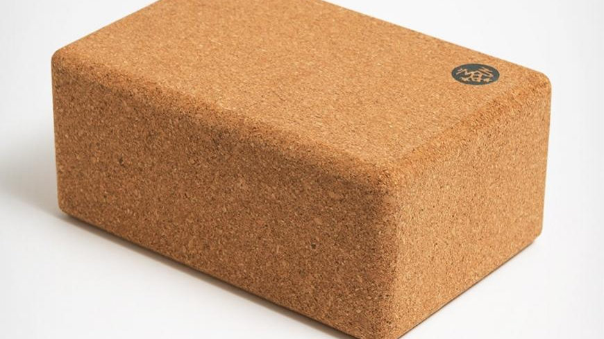 "Manduka - Cork Yoga Block 4""x6""x9"""