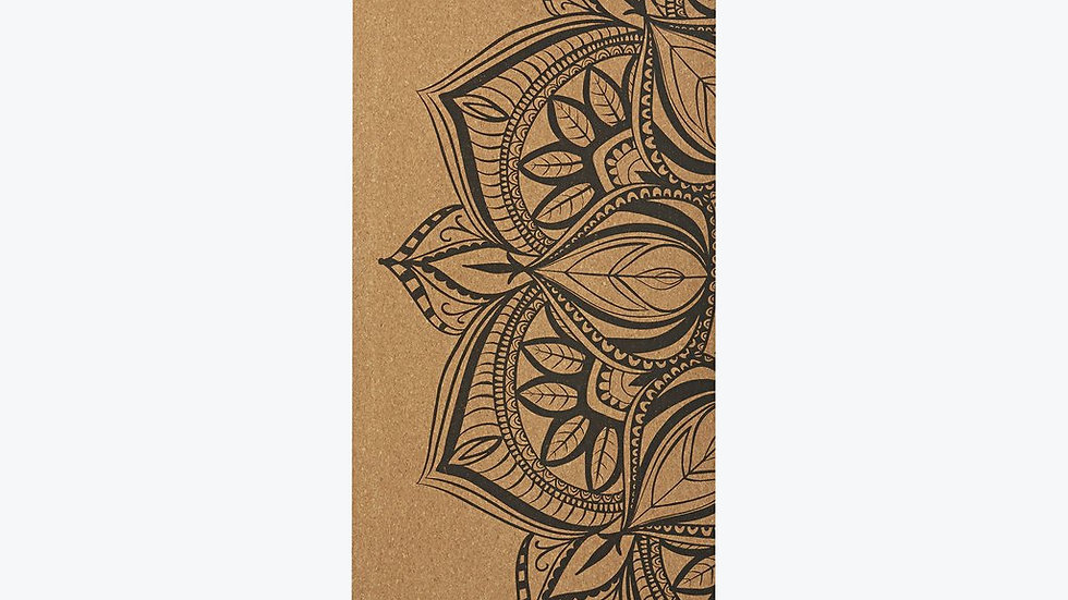 GAIAM - PERFORMANCE MANDALA CORK YOGA MAT (5MM)