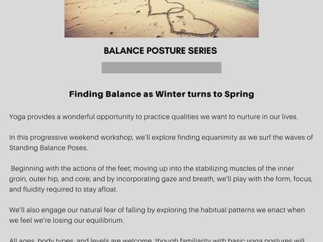 March Balance Series