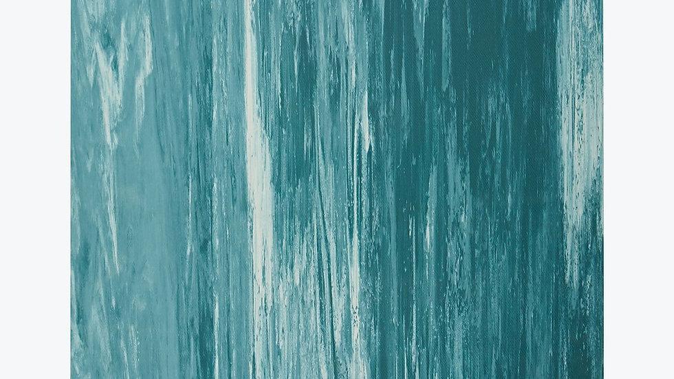 GAIAM - PERFORMANCE MARBLED POWER-GRIP YOGA MAT (4MM)
