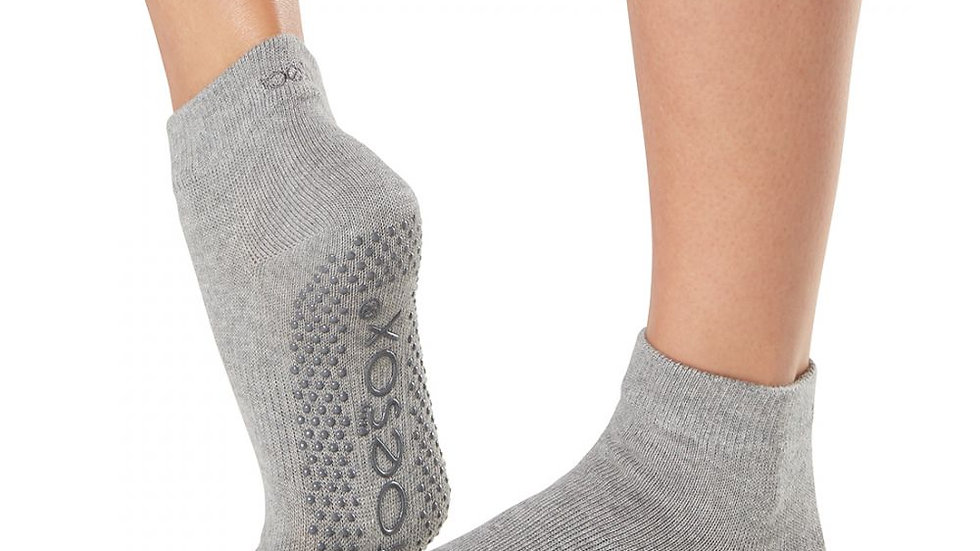 toesox - Full Toe Ankle Grip Socks