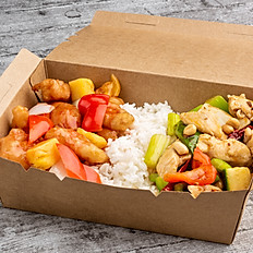 Sweet and Sour Chicken & Kung Pao Chicken