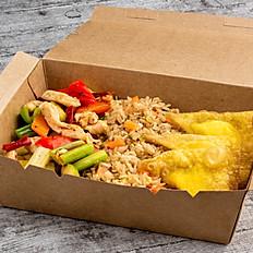 Kung Pao Chicken & Cheese Puff