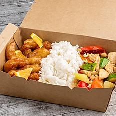 Orange Chicken & Kung Pao Chicken