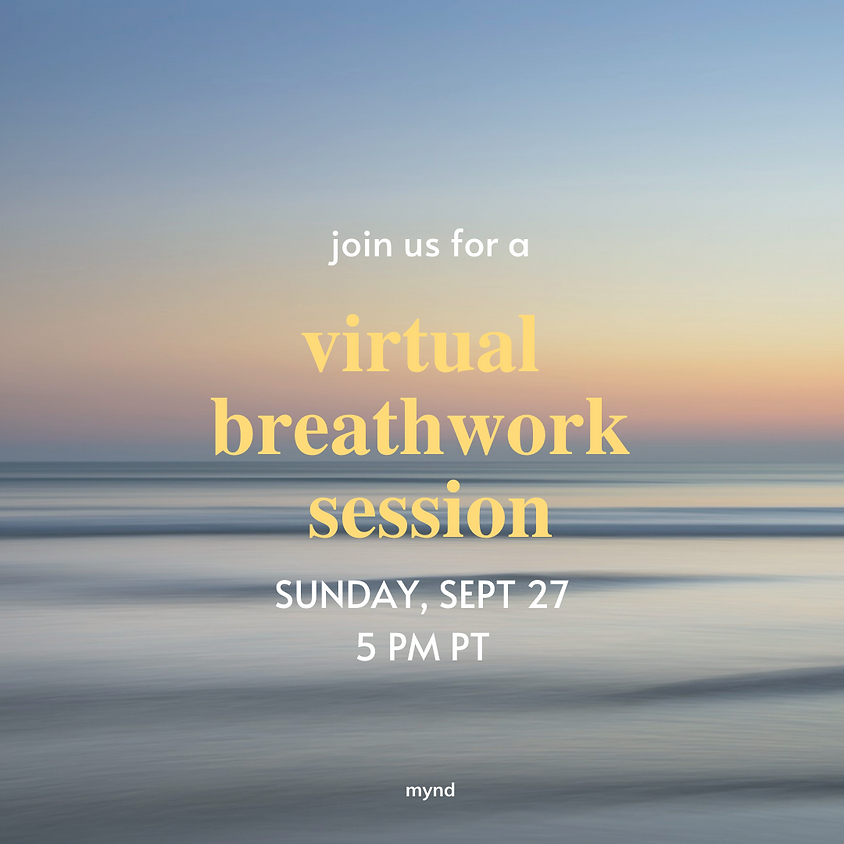 Guided Virtual Breathwork Session