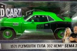 Graveyard Carz 71 Plymouth Cuda 392 Hemi Sema 2016