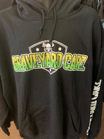 Graveyard Carz Pull Over Hoodie Skull