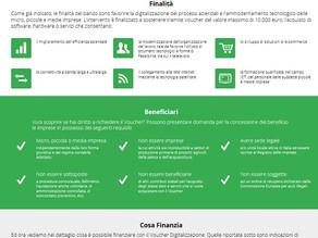 Finanzia la tua digitalizzazione