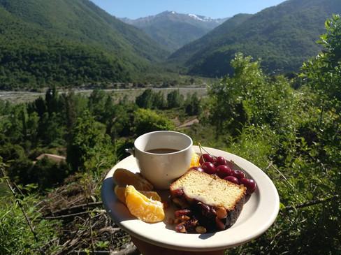 LosLeones_camps_breakfast