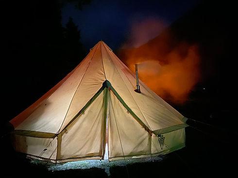 Unser Kochzelt ist bei unseren Camps immer mit dabei! - LosLeones.ch